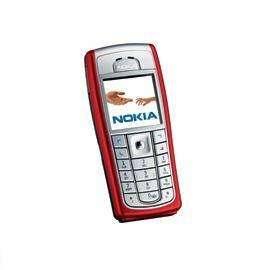 Mobilieji telefonai NOKIA. NOKIA-6230I-RED-LT