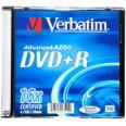 Verbatim DVD+R diskas 4,7GB 16X slim box - 43515